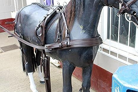 equipride KEIFFER Diplomat conducción arnés para único caballo ...