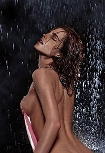 we are together EMMA WATSON Topless and Wet Print poster wal
