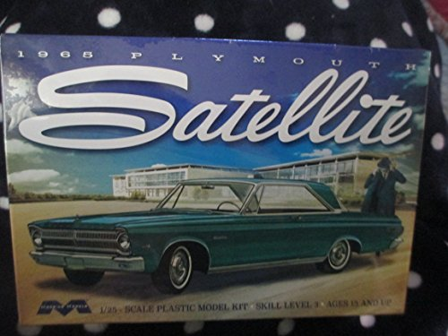 1215 Moebius 1965 Plymouth Satellite 1/25 Scale Plastic Model Kit, Needs (Kit Plymouth)
