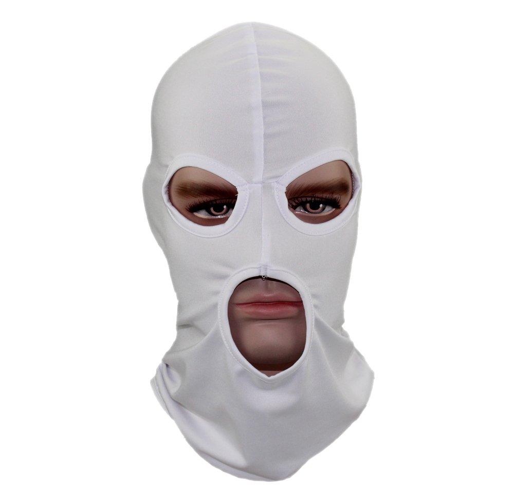 BO GANWAY Men Hat Cs Headgear Windbreak Headgear Outdoor Tactic Ride Balaclava Cap Head Cover Motorcycle Mask black