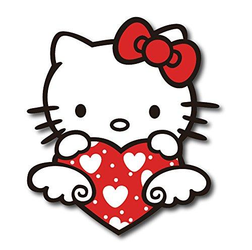 "6""Hello Kitty Decal Sticker for case car laptop phone bumper bike etc2"