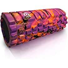 321 STRONG Foam Massage Roller - Multi Colored Deep Tissue Massager For Your Muscles & Back