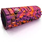 321 STRONG Foam Massage Roller - Multi Colored Deep Tissue Massager For Your Muscles & Back, Sunrise