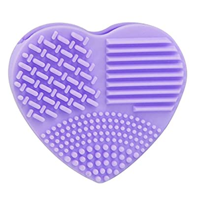 Brush Scrubber,Sunfei Silicone Fashion Egg Cleaning Glove Makeup Washing Tool Cleaners from Sunfei