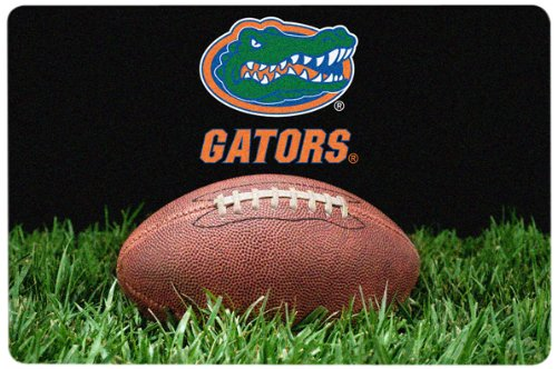 Florida Gator Football Bowl (NCAA Florida Gators Classic Football Pet Bowl Mat, Large)