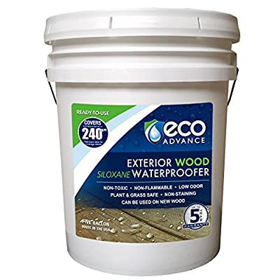 Eco Advance Wood Siloxane Waterproofer - 5 Gallon
