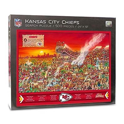 NFL Kansas City Chiefs Joe Journeyman Puzzle - 500-piece: Kitchen & Dining