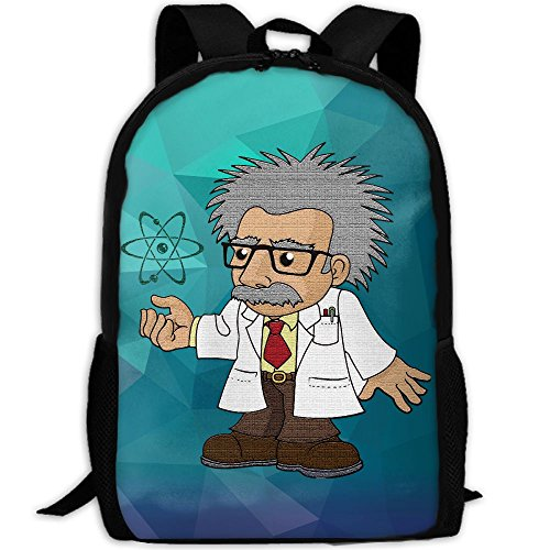 Einstein Chemistry Inventor Unique Outdoor Shoulders Bag Fabric Backpack Multipurpose Daypacks For - Sunglasses Einstein