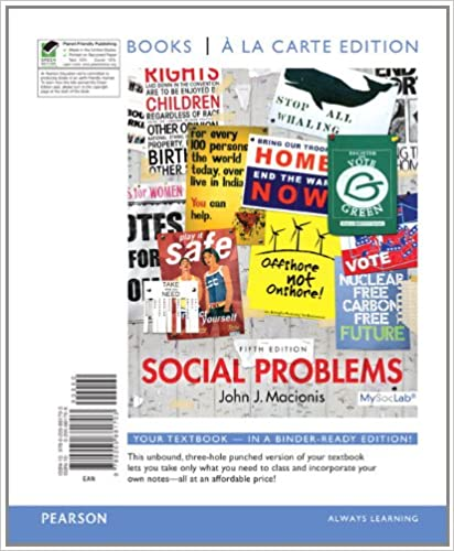 Amazon social problems books a la carte edition 5th edition social problems books a la carte edition 5th edition 5th edition fandeluxe Image collections