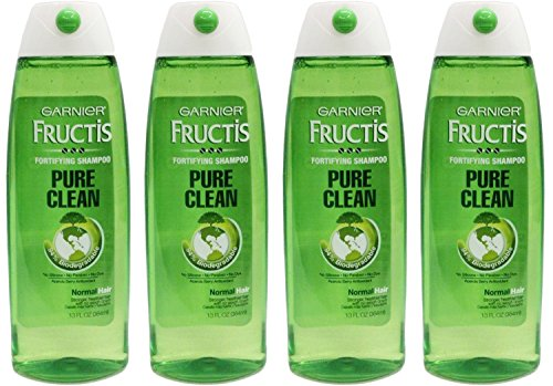 13 Ounce Shampoo (Garnier Fructis Hair Care Pure Clean Shampoo, 13 Fluid Ounce (Pack of 4))