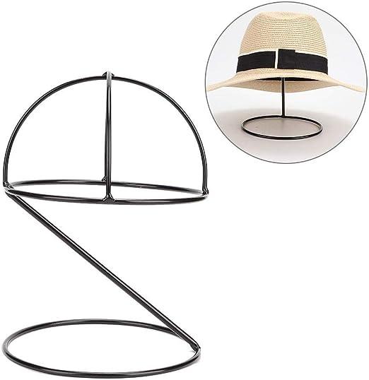 Zouminy Estante para Sombreros, Metal Estante para exhibición de ...