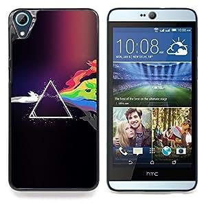 GIFT CHOICE / Teléfono Estuche protector Duro Cáscara Funda Cubierta Caso / Hard Case for HTC Desire 826 // Colorful Rabbits //