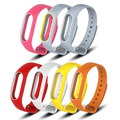 FUNKID Band for Xiaomi 2 Smartwatch Wristbands Replacement for Mi2 Bands Colorful Straps Replacement