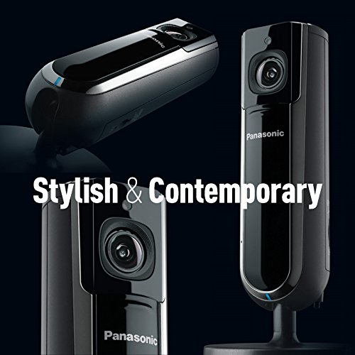 HomeHawk by PANASONIC INDOOR Home Monitoring Camera, Privacy Shutter, Wide Angle, 1080p HD, Wall Mountable, No monthly fee with Local SD storage, Night Vision, 2 Way Talk (KX-HNC800B) by Panasonic (Image #10)