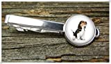 Fashion cool jewelry Beagle Tie Clip,Dog Tie Clip,Man Gift,Dome Glass Ornaments, Pure Hand-Made