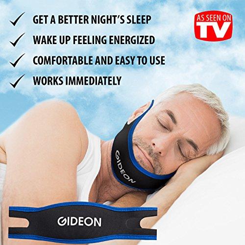 Gideon ™ réglable anti-ronflement jugulaire - ronflement naturelle et instantanée Relief - Stop ronflement Solution - naturel, Simple et rapide
