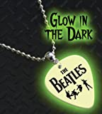 Printed Picks Company The Beatles Glow In The Dark Premium Guitar Pick Necklace/Chain