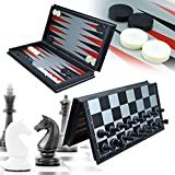 Backgammon Chess Sets - Best Reviews Guide