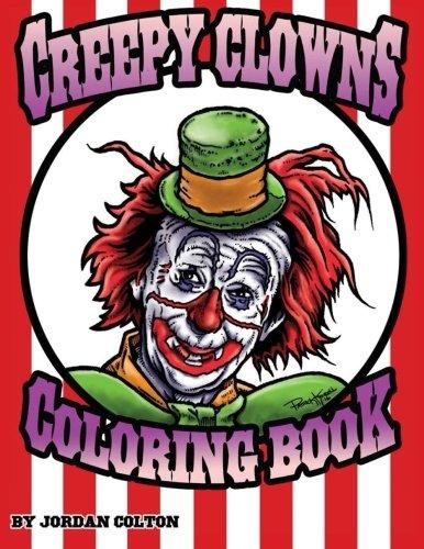 Creepy Clown Adult Coloring Book (Horrid Coloring Books) (Volume 3) -
