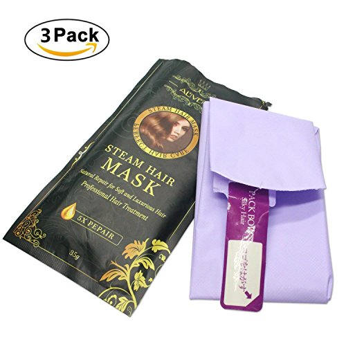 Hair Mask for Dry and Damaged Hair, Automatic Heating Deep C
