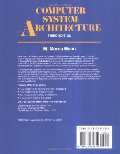 Book pdf morris architecture system mano by computer