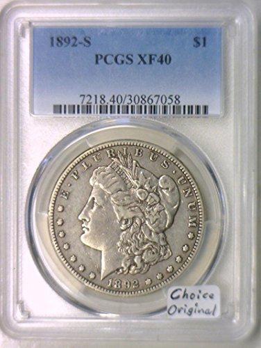 1892 S Morgan Dollar XF-40 PCGS