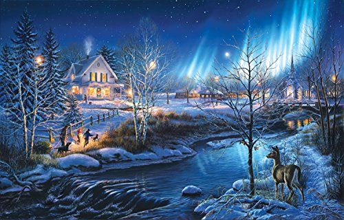 Colorcraft A Snowy Holiday Jigsaw Puzzle - 300 Large Pieces -