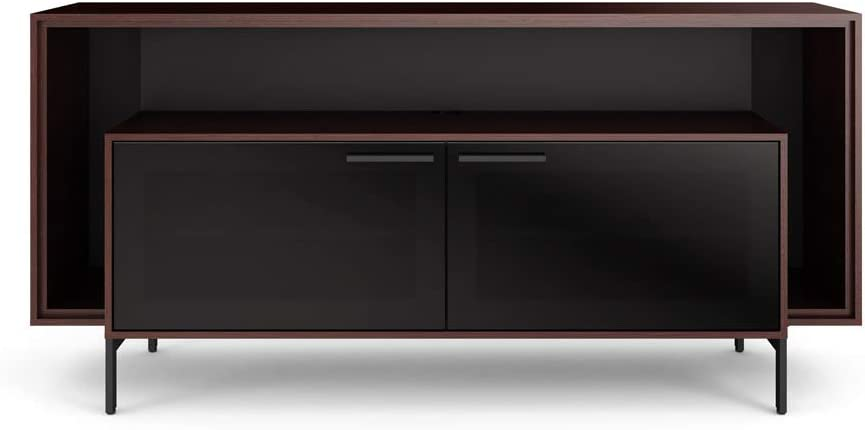 BDI Furniture Cavo Double Wide Cabinet-Espresso Stained Oak Finish Media Center,