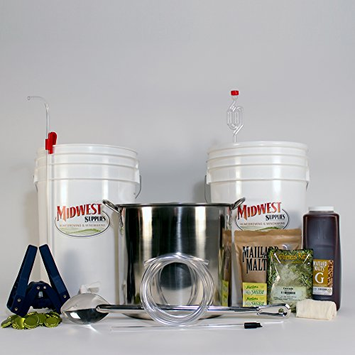 All-Inclusive-Platinum-Pro-Homebrew-Beer-Brewing-Starter-Kit-with-Front-Porch-Pale-Ale-Beer-Recipe-Kit-and-Brew-Kettle