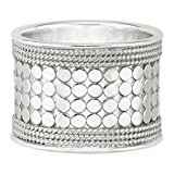 Anna Beck Sterling Silver Band Ring, Size 8.0