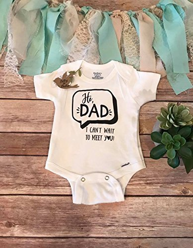 a30d1bf520e8b Amazon.com  Pregnancy Reveal to Husband Onesie®
