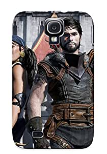Crazinesswith Perfect Dragon Age Iii Inquisition Case Cover Skin With Appearance For Galaxy S4 Phone Case