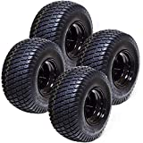 Set of 4 18x8.50x8 ATV Golf Go Cart Lawn Mower Tractor P322 Turf Tire