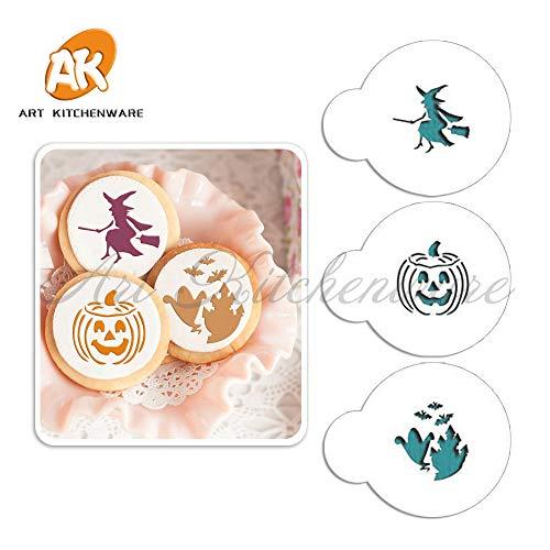 Halloween Cookie Stencil Top 1.5