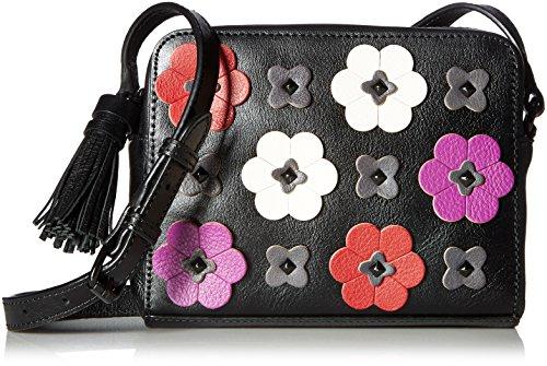 Rebecca Minkoff Floral Applique Camera Bag, Black/Multi