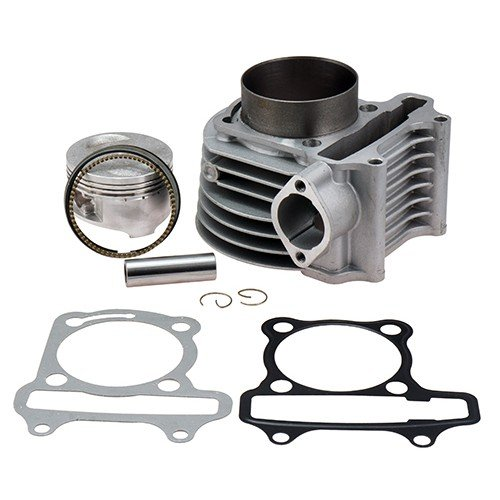 MORTCH 180cc(GY6 Big Bore) High Performance Cylinder Kits for 125cc 150cc (61mm) for Scooter ATV Go Karts Moped