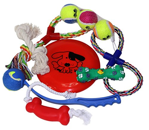 omg-ultimate-dog-bundle-with-ropes-balls-chew-toys-and-chucker-for-small-to-mid-sized-doggies