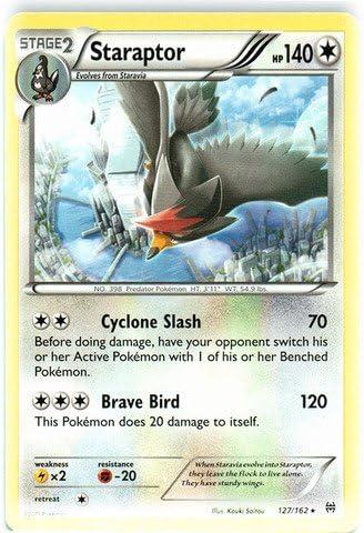 BREAKthrough Set - NM Starly 125//162 Common Pokemon Card 2015