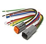 Deutsch DT 6-pin Pigtail Kit 14AWG Pure Copper