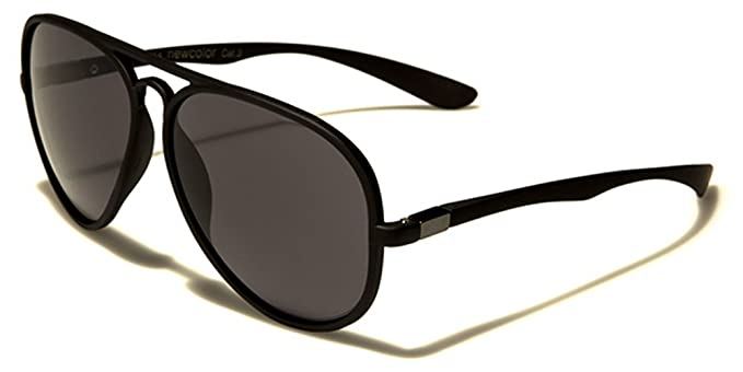 e9c45677df1 New Flex Rubber Aviator Lightweight Men s Shades Sport Driving Sunglasses  Full UV400 Protection Free VIBRANT HUT pouch included  Amazon.co.uk   Clothing
