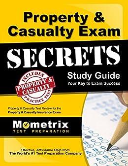 Amazon property casualty exam secrets study guide p c test property casualty exam secrets study guide p c test review for the property casualty fandeluxe Gallery