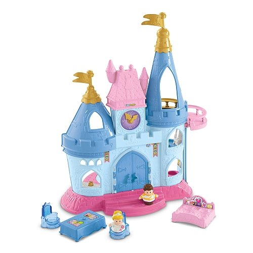 Fisher-Price Little People Disney Princess Cinderella Castle