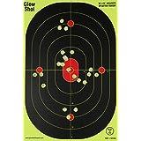 12x18-Inch Bullseye Glowshot Splatter Targets 10 Pack, 25 Pack, 50 Pack, 100 Packs