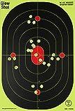 12x18-Inch Bullseye Glowshot Splatter Targets 10 Pack, 25 Pack, 50 Pack, 100 Packs (50 Pack)