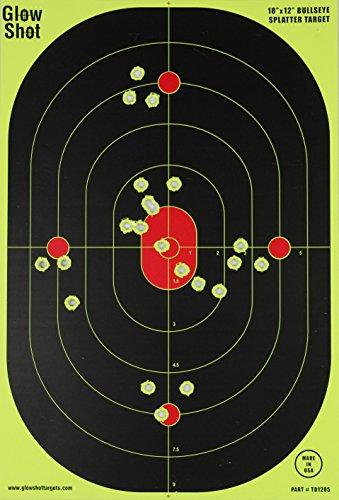 12x18-Inch Bullseye Glowshot Splatter Targets 10 Pack, 25 Pack, 50 Pack, 100 Packs (50 - Target Usa Locations