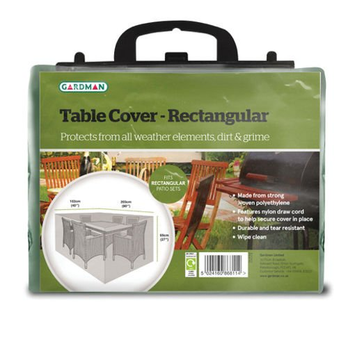 Gardman 32212 5 x 24 x 24 cm Rectangular Table Cover - Multi-Colour