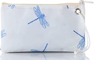 product image for Sea Bags Recycled Sail Cloth Dragonfly Wristlet