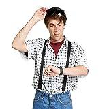 Largemouth Men's Marty McFly Shirt White (X-Small)