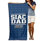 """NCAA Southern Intercollegiate Athletic Conference Logo 31.5""""51"""" Beach Towel"""