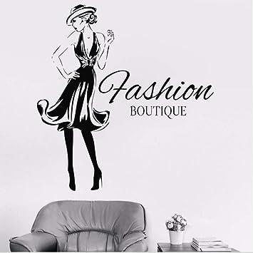 Vinilos De Moda.Personalizar Moda Mujer Diseno Etiqueta De Vinilo Ninas Ropa